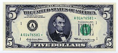 1969 Federal Reserve Note - 5 Dollars Star Note !
