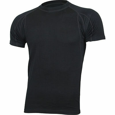 "Top Mens Merino Wool Thermal Underwear Shirt ""Comfort""  Base Layer"