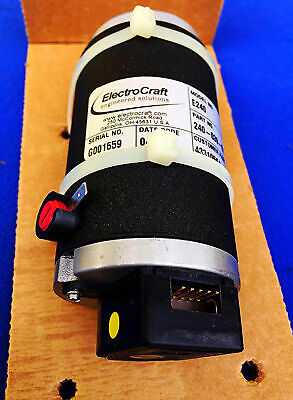 NIB ELECTROCRAFT E240 240-039-0124 SERVO TORQUE DirectPower BRUSH MOTOR FREESHIP