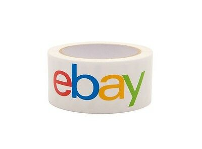 Official eBay Brand Logo Packaging Tape 1 ROLL BOPP Shipping Packing Box Sealing