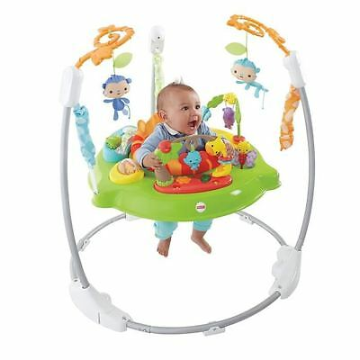 FISHER-PRICE Trotteur Jumperoo Jungle Sons Lumieres
