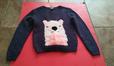 Girl's Cute Sweater Cat and Jack Brand Size 5T