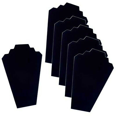 6 Necklace Black Velvet Jewelry Displays Organizer Stand NEW FREE SHIPPING