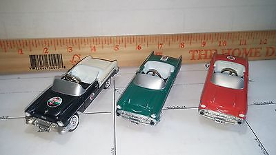 Lot of 3 Small Diecast Pedal Cars.