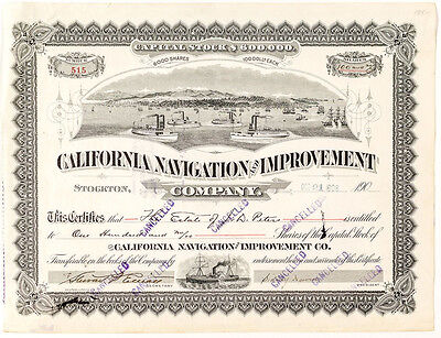 California Navigation and Improvement Company Stock (p#1047)
