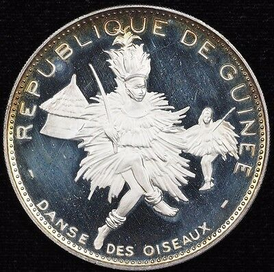 1968 guinea 500 francs proof