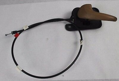 94 95 96 97 98 Ford Mustang Lh Interior Door Handle Latch Cable Saddle Tan Oem