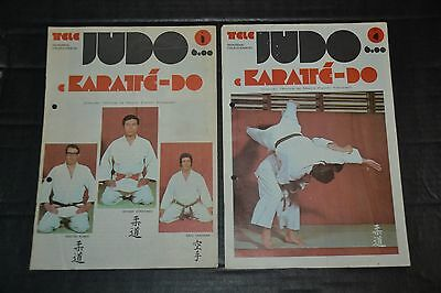 Vintage 1980's Lot of 18 Magazines Judo Karaté-Do