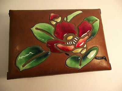 Superb antique Japanese enamel cloisonne box by Ando,early 20c. signed with box.
