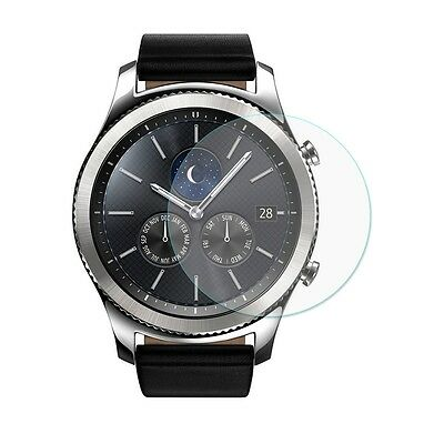 Samsung Gear S3 Smart Watch Glass Screen Protector Genuine Tempered 9H Clear