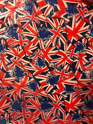 Hydro graphics   Water Transfer Film union jack 5m roll 50cm high