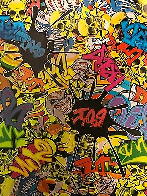 Hydro graphics  Water Transfer sticker bomb 5m roll 50cm high
