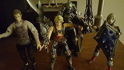 Final Fantasy XII Play Arts Lot of 4 Figures from Square Enix