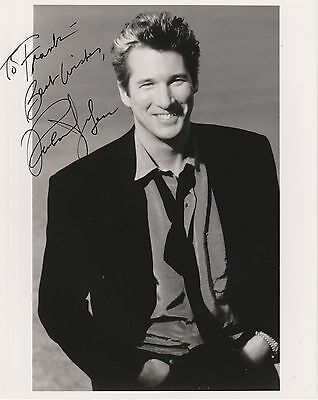 RICHARD GERE  Hand Signed Autographed 8 X10 PHOTO W/COA