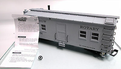 USA Trains R-2100 G Scale D&RGW Operating Rotary Snow Plow Train w/ Sound In Box