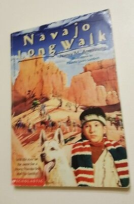 NAVAJO LONG WALK by Nancy Armstrong 1994 Scholastic Paperback Ages 9 to 12