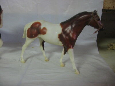 Breyer Paddock Pal/Little Bit Quarter Horse Stallion - bay paint with halter