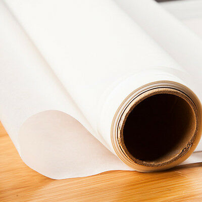 5M Parchment Paper Silicone Baking Mat Pad Roll Wax Non Stick Kitchen Tool White