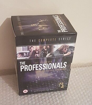 The Professionals - Series 1 To 4 DVD BOX SET