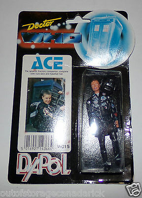1987 Doctor Who ACE Action Figure W015 Dapol - MOC NEW RARE
