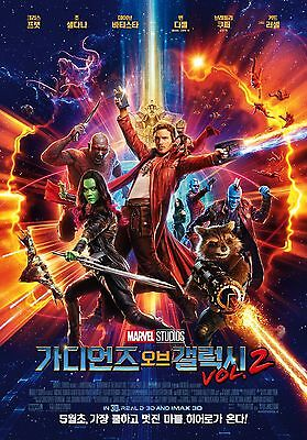 Guardians of the Galaxy Vol. 2 2017 Korean Mini Movie Posters Movie Flyers