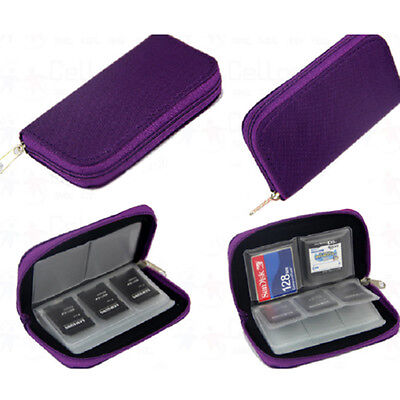 NEW Wallets For SD Card Memory Card Storage Carrying Cases Holder Bag Gift