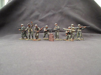 ITALERI  1/32  54mm german elite troops ss WW2 hand painted conte airfix tssd