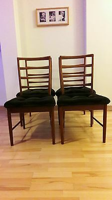 Dining Chairs - Set of 4 - Teak, 1960s, Retro, Vintage
