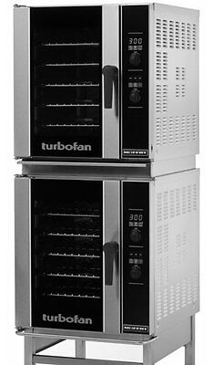Moffat E33D5/2 Dbl Electric Digital Convection Oven 5 Pan Half Size & Stand