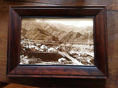 Vintage Limited Edition Historic Photograph Of Macetown, New Zealand.