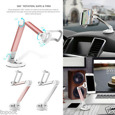 Universal Car 360° Desktop Mount Holder Stand For iPhone & Android Phone GPS