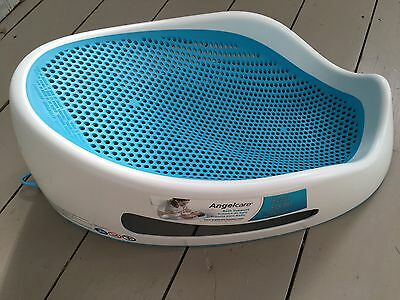 Angelcare Soft Touch Bath Support - Aqua Colour Baby Bath Support Seat
