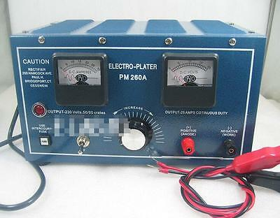 Jewelry Plater Electroplating Rectifier Platinum Silver Gold Plating Machine-New