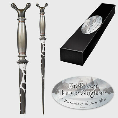 Harry Potter Professor Horace Slughorn Wand with Nameplate by Noble Collection