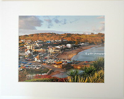 """""""View over Saundersfoot""""  Limited Edition Mounted  Photographic Print 14x11 8x6"""