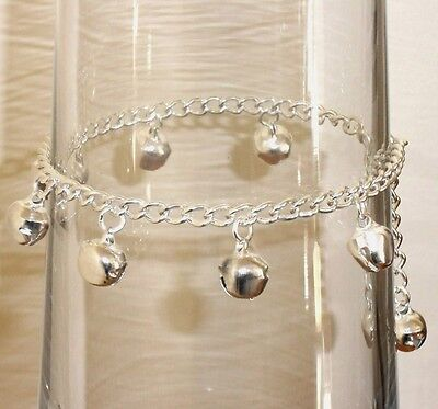 Jingle Jangle Bells ANKLET -  Fits up to 10 Inches