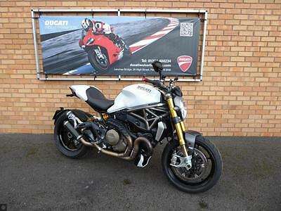 Ducati M1200 S Monster  - White - Low Mileage