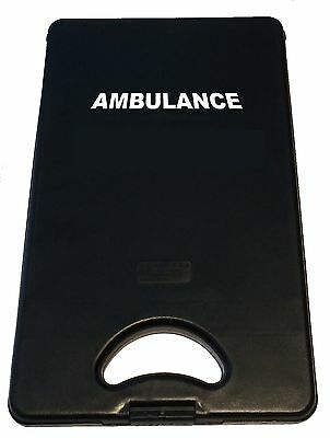 Saunders DeskMate 2 Storage Clipboard Branded Ambulance, First Aid, Paramedic