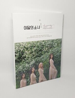 K-POP MONTHLY GIRL LOONA 1/3 1st Mini Repackage Album [Love & Evil] Normal Ver.