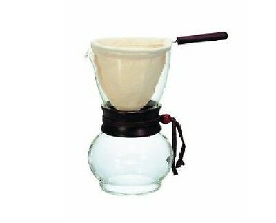 New Hario Drip Pot Woodneck DPW-3 480ml coffee maker 3-4 cup F/S From Japan