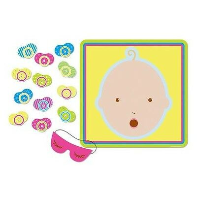 Pin The Dummy Pacifier Baby Shower Game