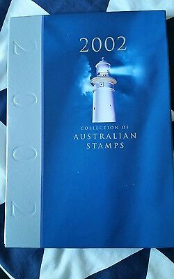 2002 Australia Post Deluxe Collection Yearbook Album with all Stamps