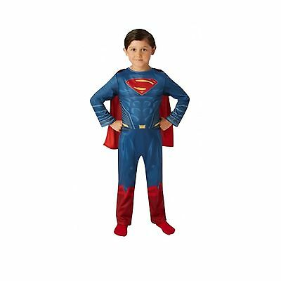 Fancy Dress Superman Dressing Up Costume Age 5-6 Years Dawn Of Justice New
