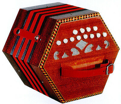 NEW Stagi Concertina Organetto O-2 C LM 4