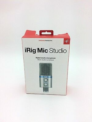 iRig Mic Studio- Digital Studio Microphone by IK Multimedia