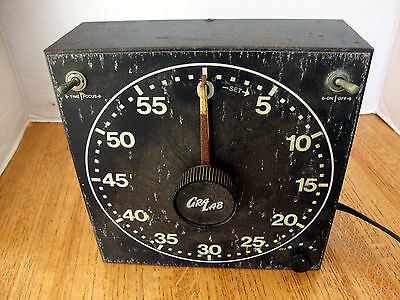 Vintage GraLab Model 300 Photography and Darkroom Timer with Character