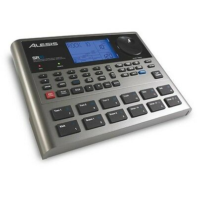 Alesis SR18 Drum Machine with over 500 Drum & Percussion Sounds & 50 bass Sounds