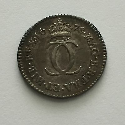 1678 Maundy Twopence 2d, Superb, Charles II, Great Britain, UK