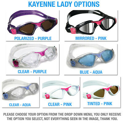 Aqua Sphere Swimming & Triathlon Goggles & Masks Full Range! Mens, Womens, Kids