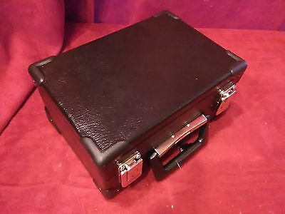 NEW Concertina Hard Case Piccolo Black Padded Fits Stagi A-18